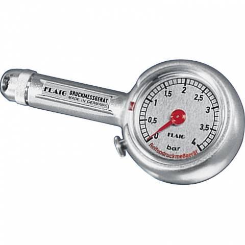 Měřič tlaku kovový