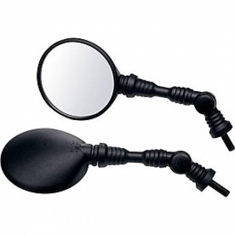 Univerzální nastavitelné zrcátko s kloubem na motorku nebo čtyřkolku