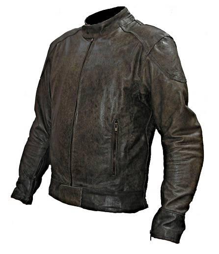 Kožená bunda na motorku MD Ride - Street