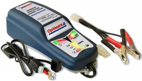 Nabíječka Optimate 4 dual CAN-bus pro auto moto baterie i gelové a AGM akumulátory