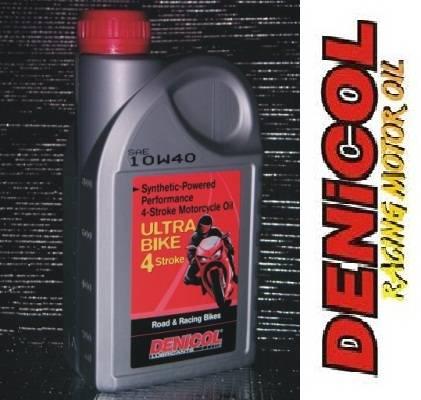 DENICOL Ultra Biker 4T 10W40 syntetický olej pro čtyřdobé motory motocyklů