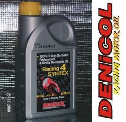 DENICOL Racing 4 Syntex 4T 10W40 100% syntetický olej pro čtyřdobé motory motocyklů
