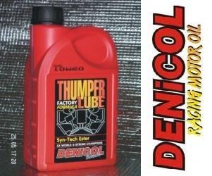 DENICOL Thumper Lube 4T 10W60 esterový olej pro závodní motocykly