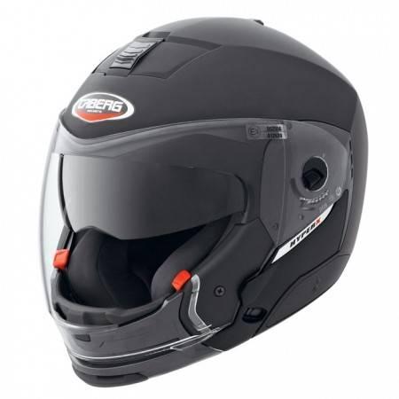 Caberg helma Hyper X integrální helma na motorku černá matná