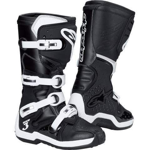Motocrossové boty Alpinestars NEW TECH 3 černá/bílá