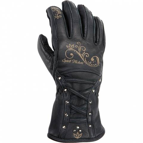 Luxusní Dámské kožené rukavice na moto Spirit Motors