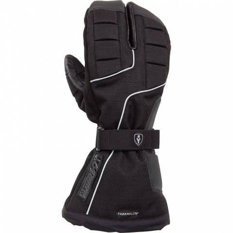 Tříprstové rukavice na moto Thermoboy