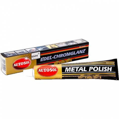 Leštěnka na chromované díly Metal Polish na motorku i auto