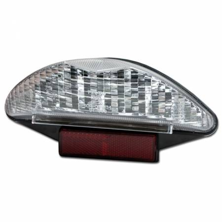 Zadní LED diodové světlo na motorku BMW R 1200 GS čiré