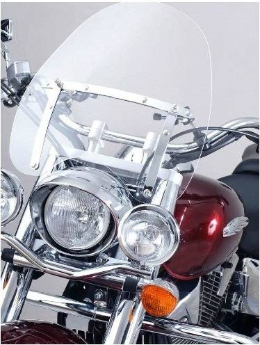 Plexi štít pro moto chopper Virago Drag Star Intruder Shadow VTX - menší