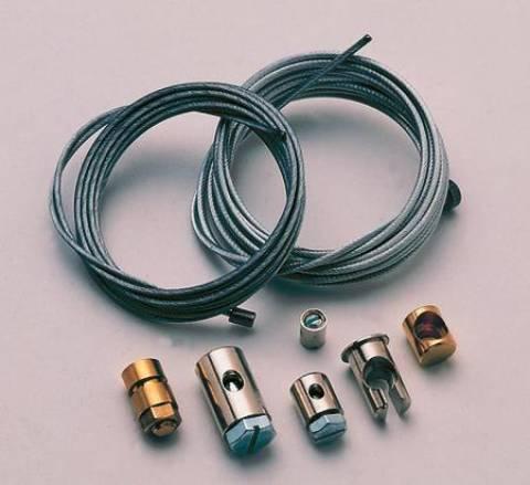 Opravárenský set lanka pro moto - plynové a spojkové lanko