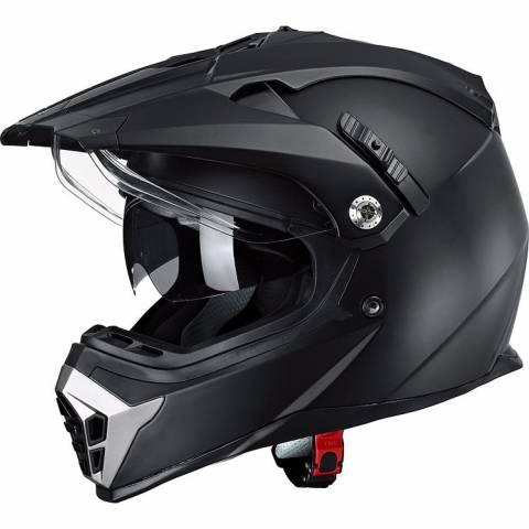 Helma NEXO X TOUR II cross helma na enduro s plexi a kšiltem