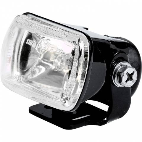 Přídavné mlhové světlo na motorku