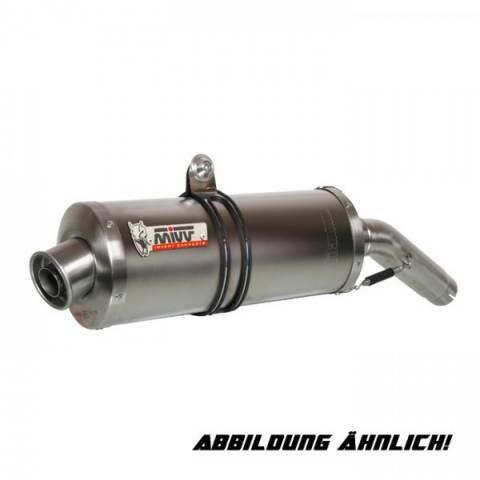 MIVV Sport laděný výfuk Honda CBR 600 F(99-00) carbon , Sl/O OVAL , Carbon,