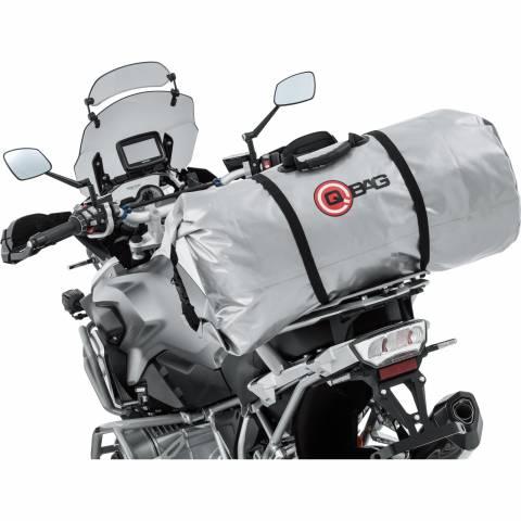 QBag motoválec 65 litrů stříbrný bag na motorku