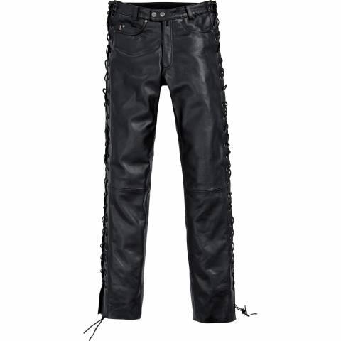 Dámské kožené kalhoty sňůrkové Spirit