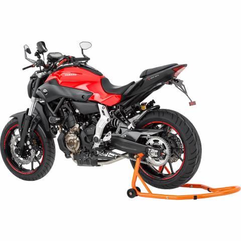Montážní stojan na motorku zvedák pod kyvku nastavitelný