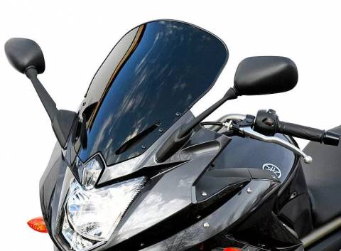 Turistické plexi Kawasaki ER-6 f od 2012 černá