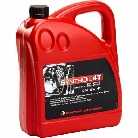 Moto olej 4T SAE 5W-50 syntetický olej 4000 ml TIP