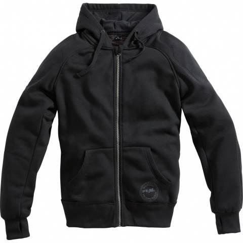Textilní HOODIE bunda s protektory FLM NOVINKA