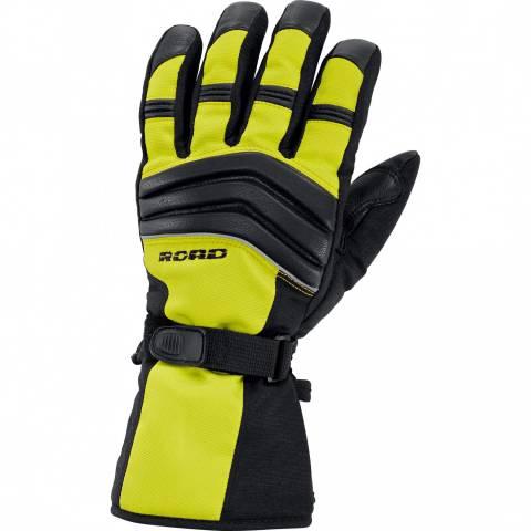 Road rukavice na moto noen-žluté NOVINKA 2017