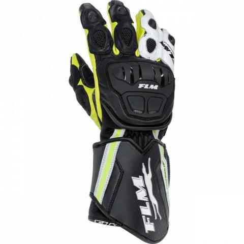 Sportovní rukavice FLM žlutá neon