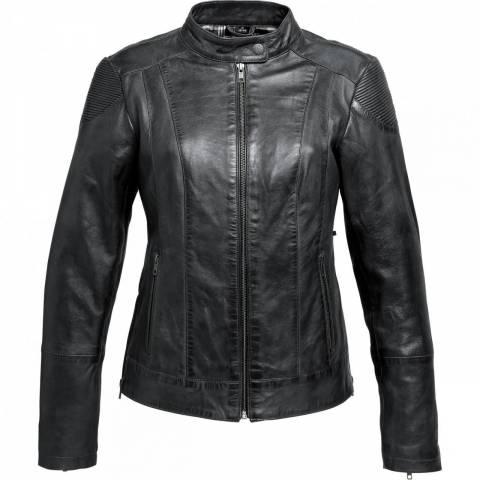 Dámská kožená bunda na moto Soft Spirit Motors