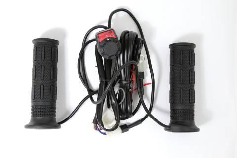 Vyhřívané rukojeti pro ATV Quad čtyřkolky na řidítka 22 mm