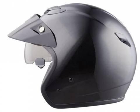 Helma MTR 1 Jet Sun na motorku černá matná
