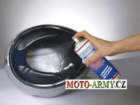 Čistič polstrování helmy
